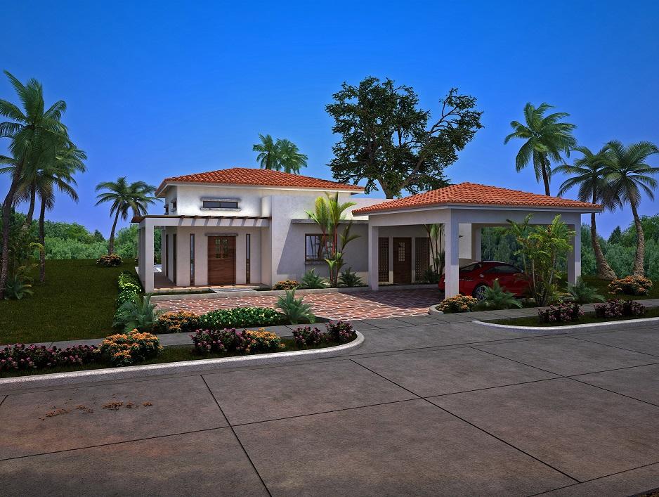 Proyecto villas coco del mar azuero real homes panama for Mar villa modelo